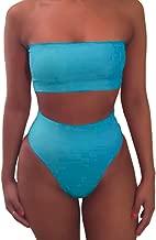 Best baby blue high waisted bikini Reviews