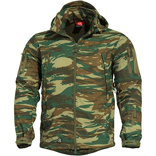 Pentagon Herren Artaxes Soft Shell Jacke Greek Lizard Größe 3XL