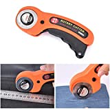 45mm Round Cutters Sewing Blades Manual Rotary Fabric Cutter Craft Cloth Leather ABS Plastic Quilting Sewing Cutting Tool