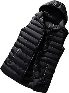 Men's Lightweight Quilted Gilet Winter Down Puffer Sleeveless Jacket Vest Waistcoat Big & Tall