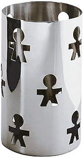 Alessi Girotondo AKK09 - Porte-gressins Design Ajouré en Acier Inoxydable 18/10, Poli