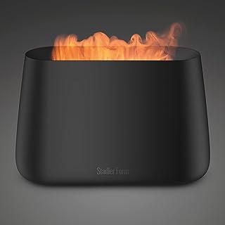 Stadler Form Luchtbevochtiger en aroma diffuser Ben, ultrasone vernevelaar voor ruimtes tot 25 m2, incl. haardvuur look, z...