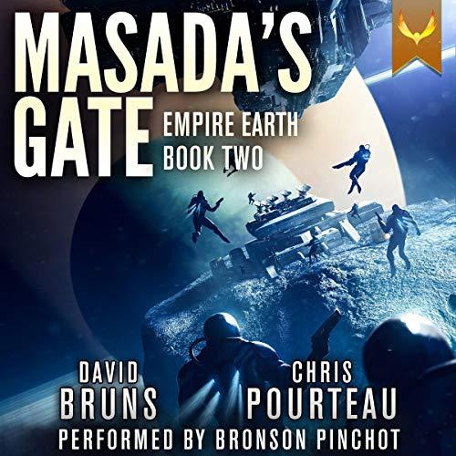 Masada's Gate Audiobook By Chris Pourteau,                                                                                        David Bruns cover art