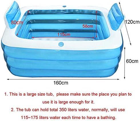 Large plastic bathtub for adults _image2