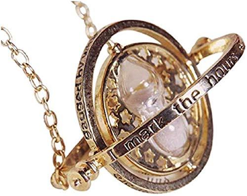 Collana con giratempo di Hermione Granger e giratempo di Hogwarts Turner, idea regalo