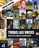 Todas las Voces (Nueva Edición) - Libro del alumno + CD + DVD: Todas las Voces Libro del alumno+DVD (Ele - Texto Español)