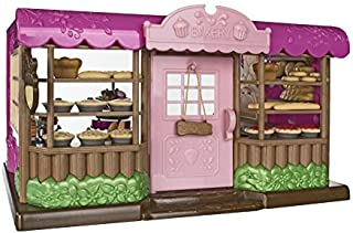 Lil Woodzeez Tickle Your Taste Buds Bakery Set - Can Be Used with All Families & Environments - Ages 3+