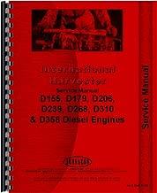 International Harvester 724 Tractor Engine Service Manual (1969-1974)