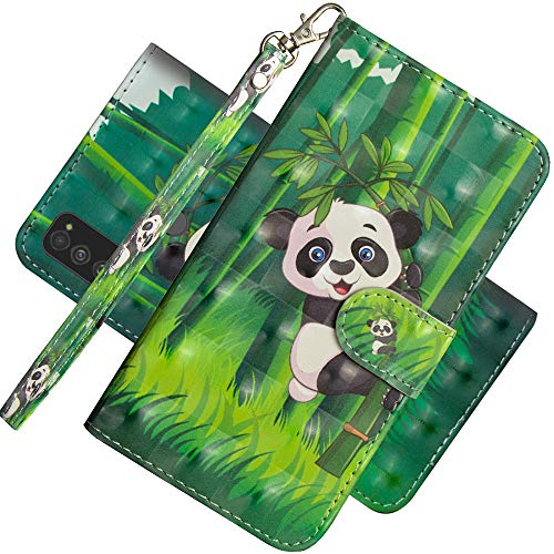 EMAXELER Samsung Galaxy S20 Ultra Case 3D Full Stylish PU Leather Shockproof Flip Wallet Bookstyle Case with Kickstand Credit Cards Slot for Samsung Galaxy S20 Ultra YX 3D: Panda