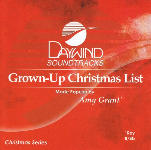 Grown-Up Christmas List [Accompaniment/Performance Track]