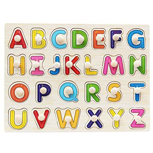 BOBORA Puzzles Infantiles de Madera Juegos Juguetes Educativos de Aprendizaje Juguete Rompecabezas...
