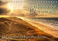 Sehnsucht Daenemark - Danmark (Tischkalender 2022 DIN A5 quer): Holmsland Klit und Westjuetlands Nordseekueste (Monatskalender, 14 Seiten )
