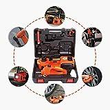 An/Fisch 5T del Piso del Coche eléctrico Gato hidráulico Tronco de 3 Funciones con Llave de Impacto y neumático del Built-In de luz LED para neumáticos de reparación de Herramientas