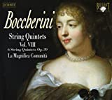 Boccerini: String Quintets Vol. VIII opus 39 with double bass - La Magnifica Comunita