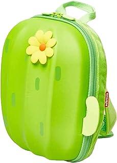 Super cute Cactus Printed Backpack with Zip Closure Toodler School Bag, Preschool kids Backpack - 20x10x23 cm (polyester, ...