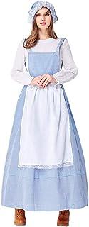 Bmeigo Disfraz de Princesa de Fantasía para Mujer Vestido