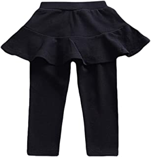 Xshuai RTE Children Kids Baby Girls Letter T Shirt Tops+Ruffle Loose Pants Outfits Costume