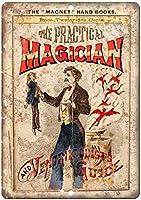the Practical Magician ティンサイン ポスター ン サイン プレート ブリキ看板 ホーム バーために