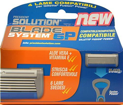 Cuchillas compatibles con Gillette Fusion Power (no aptas para el mango Flexball).