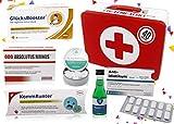 40. Geburtstag | Erste Hilfe Set Geschenk-Box, witziger Sanikasten | 8-teilig | Spaßgeschenk zum...