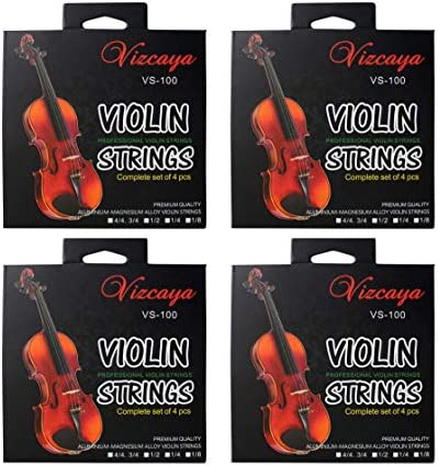 Vizcaya Universal 4 Full Sets Violin Fiddle Violin String G D A E for 4 4 3 4 1 2 1 4 Size Beginner product image