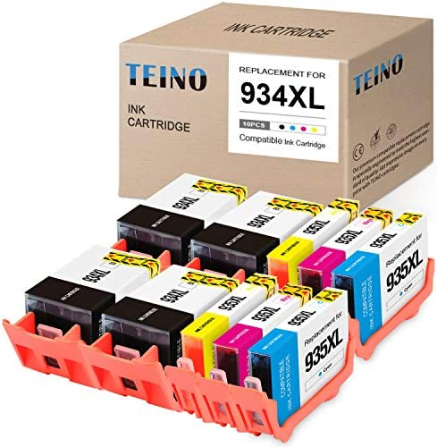 TEINO Compatible Ink Cartridge Replacement for HP 934 935 XL 934XL 935XL use with HP OfficeJet product image