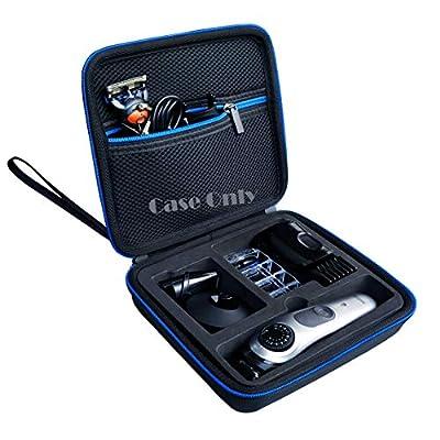 LAVSS Travel Hard Case for Braun BT7040 BT5065 BT3021 BT3022 BT3041 BT3040 Braun MGK3021 MGK7021 MGK7020 Braun BT Braun MGK Beard Trimmer and Hair Clipper,Blue Zipper from LAVSS
