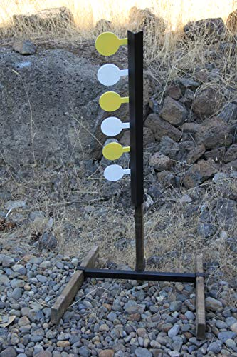 Deschutes Metal Works Pistol/Handgun Dueling Tree Six Paddle AR-500 Target Set