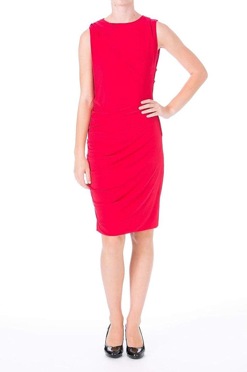 DKNYC Women's Sleeveless Ruched Dress