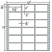 東洋印刷 タックフォームラベル 12インチ ×13インチ 18面付(1ケース500折) MX12D
