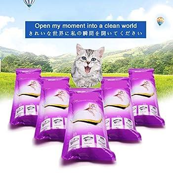 YYQQ 3 Emballages De 21 Sacs À Litière 91.5 × 45.7 Cm pour Chat, Sacs avec Poignées pour Bac À Litière De Moyenne Et Grande Taille, pour Les Bacs À Litière pour Chats De Grande Et Moyenne Taille