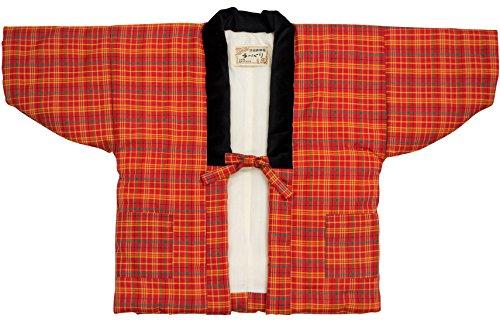 90~140サイズ 日本製だから安心 あったか快適女の子用はんてん・半纏・袢天・ちゃんちゃんこ (110サイズ, 9)