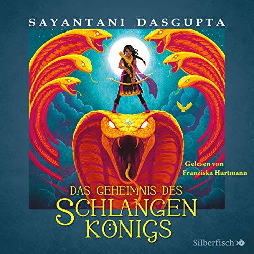 Das Geheimnis des Schlangenkönigs audiobook cover art