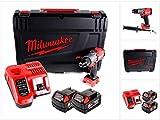 Milwaukee M18 FPD2-502X Schlagbohrschrauber M 18 FPD2 18,0 Volt / 5,0 Ah Li-Ion 4933464264 Akku-Bohrschrauber Kraftstoff, 18 V