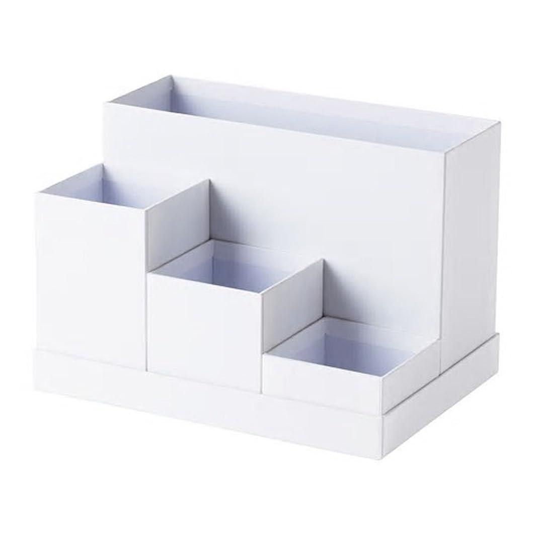 ガイダンス興奮するエロチックIKEA/イケア TJENA:デスクオーガナイザー18x17 cm ホワイト (203.954.54)