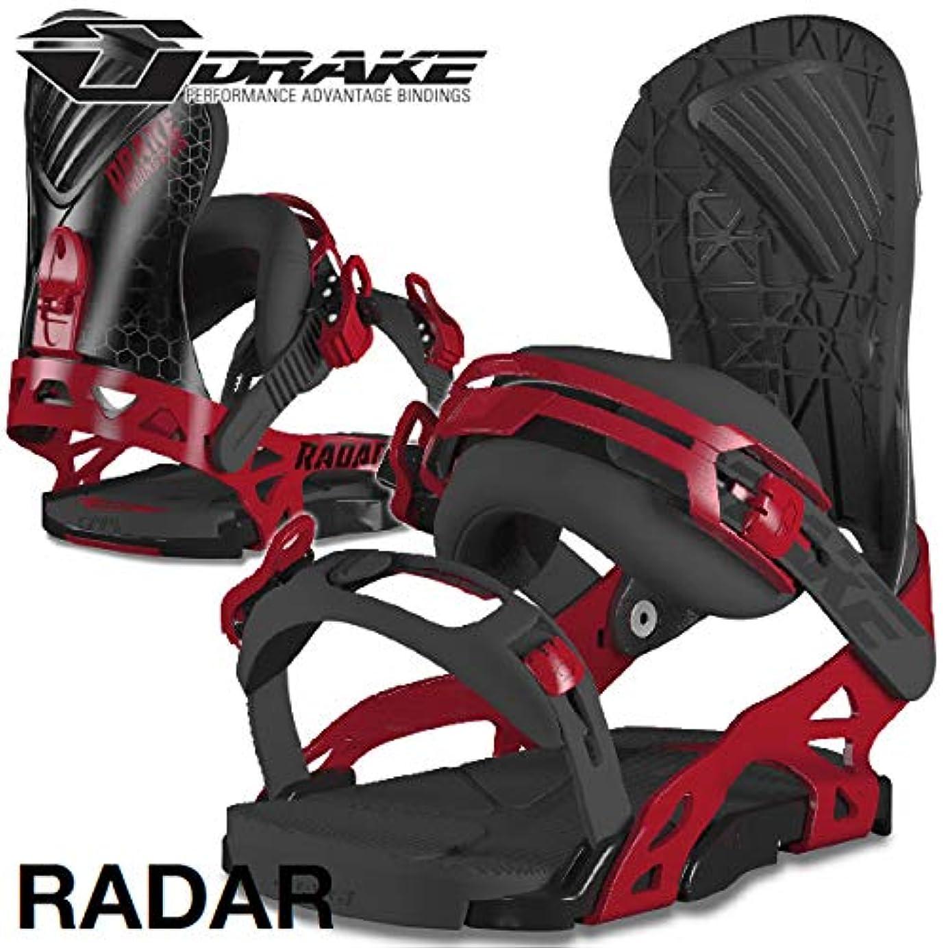 宝石パドル豊富18-19 DRAKE/ドレイク RADAR レーダー メンズ ビンディング バインディング スノーボード 2019
