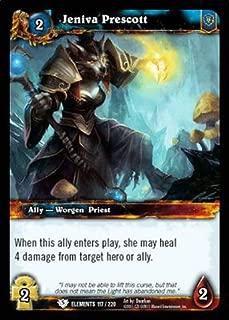 World of Warcraft TCG - Jeniva Prescott (117) - War of the Elements