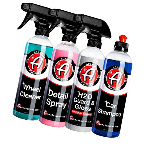 Adam's Most Popular Car Detailing Kit - Car Wash & Cleaning...