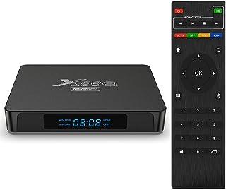 Android TV Box 10.0,2021 X96Q PRO TV Box 2GB RAM 16GB ROM Allwinner H313 Quad-Core 64bit met Dual-WiFi 2.4G / 5.8 GHz USB ...
