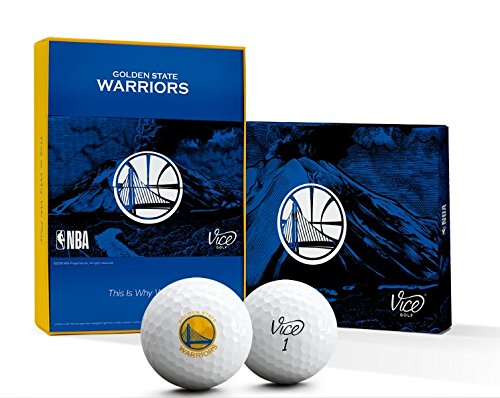 Vice Golf TOUR NBA WARRIORS GOLF BALLS (Warriors)