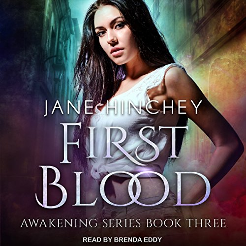 First Blood     Awakening Series, Book 3              By:                                                                                                                                 Jane Hinchey                               Narrated by:                                                                                                                                 Brenda Eddy                      Length: 5 hrs and 32 mins     5 ratings     Overall 4.6