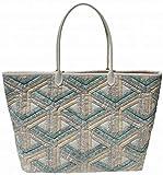 柴田明美のパッチワークキット インナーシティのバッグ 出来上がり作品サイズ縦28cm×横48cm×幅14cm B-104