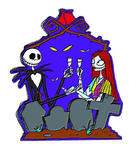 Disney Imán para coche de Nightmare Before Christmas Jack and Sally