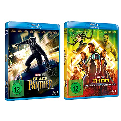 Black Panther + Thor: Tag der Entscheidung Blu-ray Collection