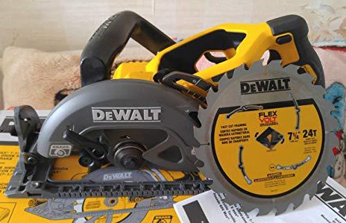 De-Walt DCS577B 7 1/4 Flex Volt Worm Drive Circular Saw 60 volt (Bare Tool)