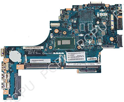 K000889110 Toshiba Satellie C55T-B5109 Laptop Motherbaord w/ Intel i3-4005U 1.7Ghz CPU