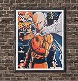 MS Fun Saitama Super Hero One Punch Man Poster, originelles