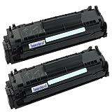 2X Rebuilt Toner für Canon FX-10 für Fax L100 / L120 Canon I-Sensys MF4350 MF4350D MF4370 MF4370DN MF4380 MF4380DN.