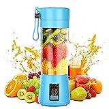 Tritatutto e mini frullatori, Frullatore Portatile Mixer portatile ricaricabile USB, mixer personale, piccolo mixer elettrico per frutta, frullatore elettrico per frutta e frutta