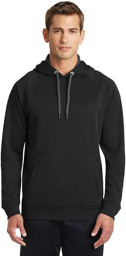 SPORT-TEK Mens Tech Fleece Hooded Sweatshirt